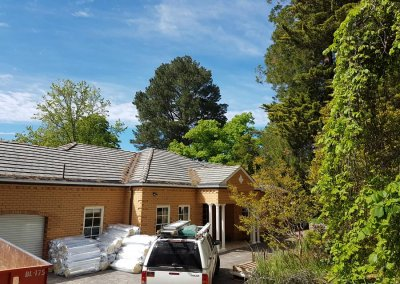 Reroofing, Stirling